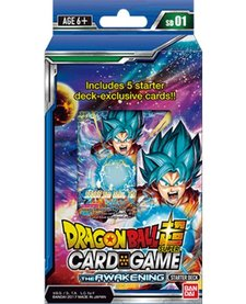 DRAGON BALL Z SUPER - AWAKENING - STARTER DECK