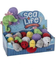 SEA LIFE FINGER PUPPET