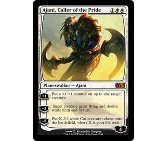 MTG Ajani Caller of the Pride - JAP