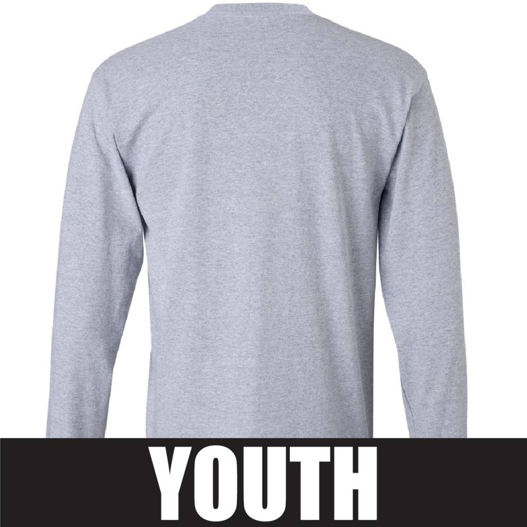 Gildan Gildan Ultra Cotton Youth Longsleeve T-Shirt (Sport Grey)