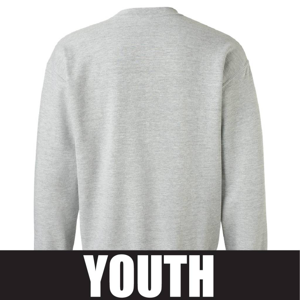 Gildan Gildan Heavy Blend Youth Fleece Crew (Sport Grey)