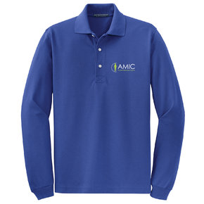 Port Authority Port Authority Long Sleeve Polo (Royal)