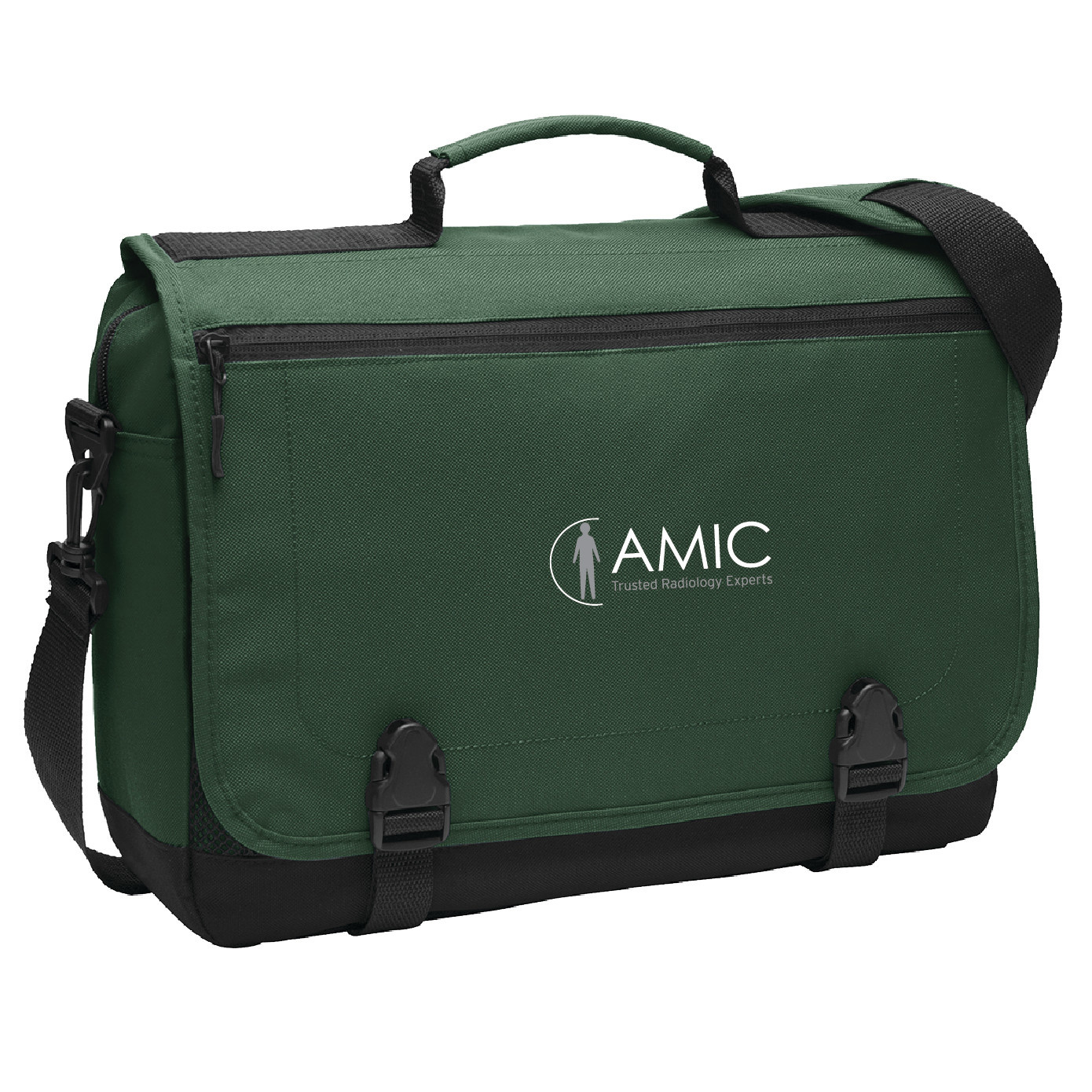 Port Authority Port Authority Messenger Briefcase (Forest Green)