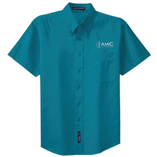 Port Authority Port Authority Short Sleeve Easy Care Shirt (Teal Green)