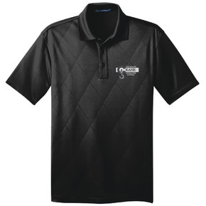 Port Authority Port Authority Tech Embossed Polo (Black)