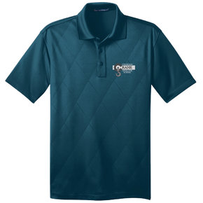 Port Authority Port Authority Tech Embossed Polo (Poseidon Blue)