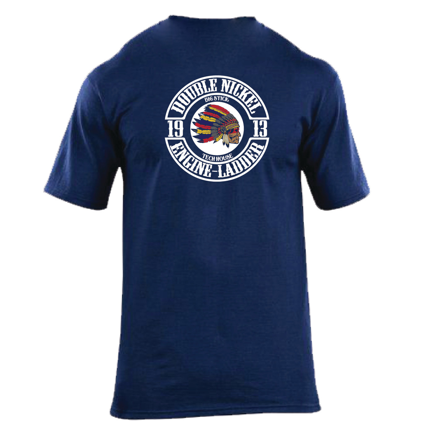 Station Wear T-Shirt (Navy)