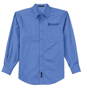 Port Authority Port Authority Long Sleeve Easy Care Shirt (Ultramarine Blue)
