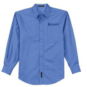 Port Authority Long Sleeve Easy Care Shirt (Ultramarine Blue)
