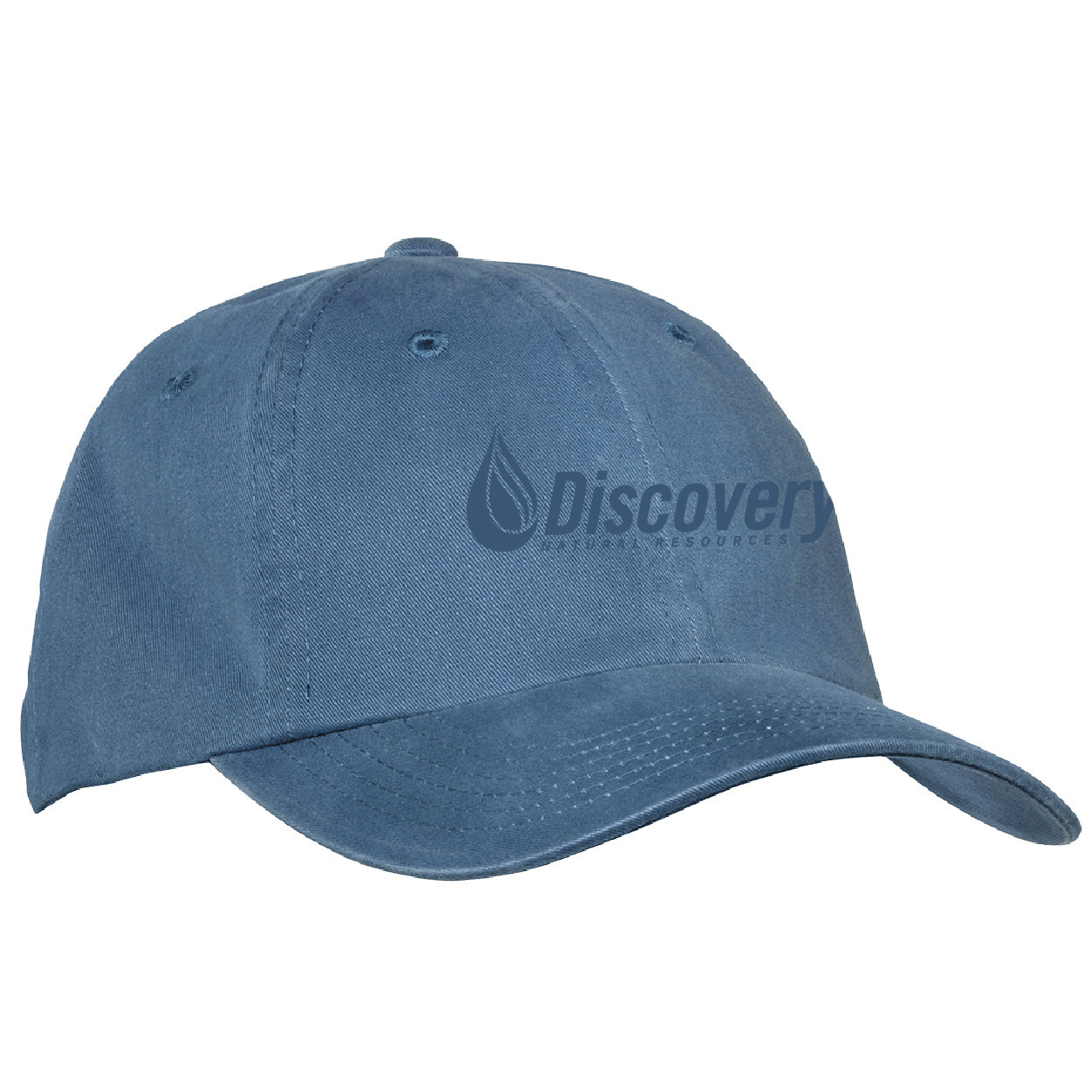 Port Authority Port Authority Garment Washed Cap (Steel Blue)