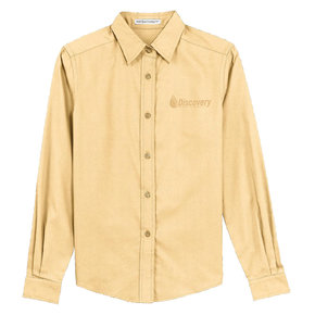 Port Authority Port Authority Ladies Long Sleeve  Easy Care Shirt (Yellow)