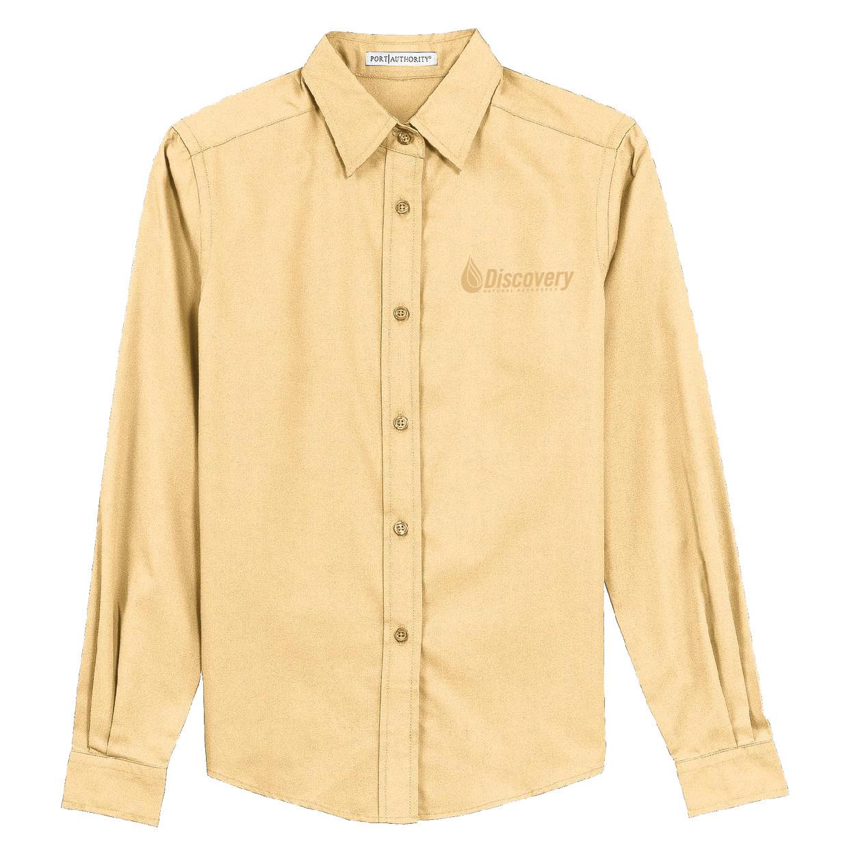 Port Authority Port Authority Ladies Long Sleeve Easy Care Shirt (Yellow)