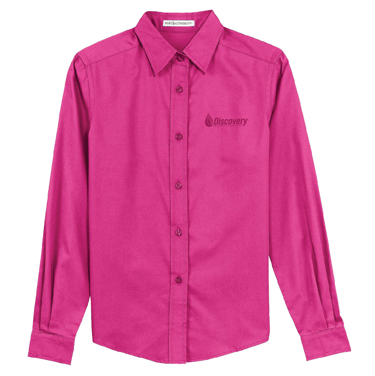 Port Authority Port Authority Ladies Long Sleeve Easy Care Shirt (Tropical Pink)