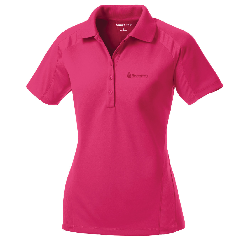 Sport Tek Sport Tek Ladies Dri Mesh Pro Polo (Pink Raspberry)