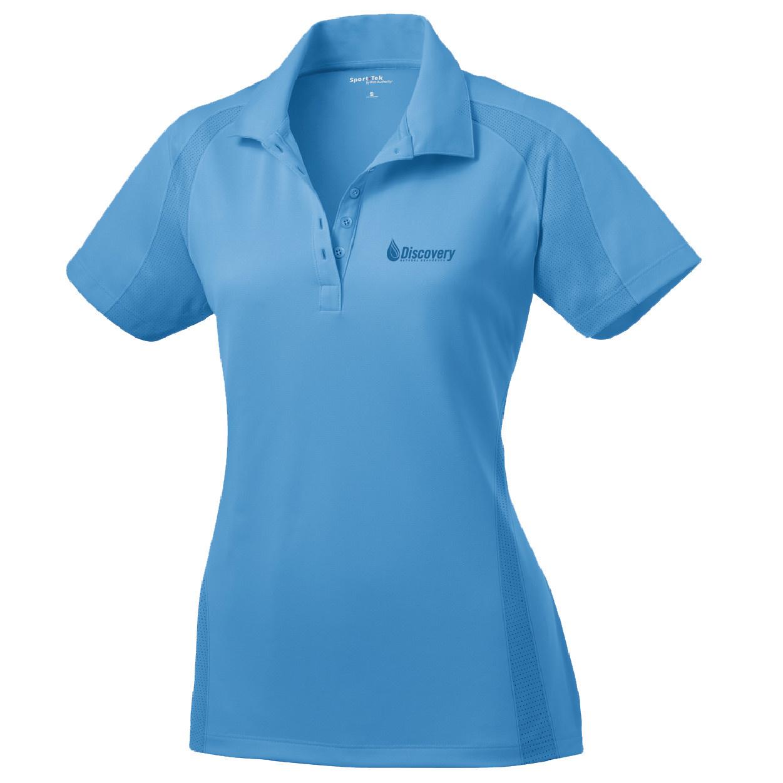 Sport Tek Sport Tek Ladies Dri Mesh Pro Polo (Carolina Blue)