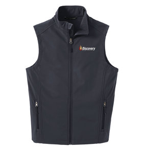 Port Authority Port Authority Core Soft Shell Vest ( Battleship Grey)