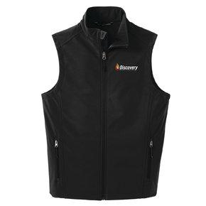 Port Authority Core Soft Shell Vest (Black)
