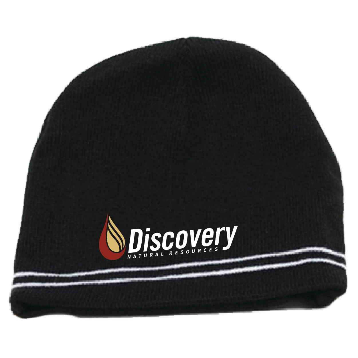 Pacific Pacific Knit Beanie (Black/White)
