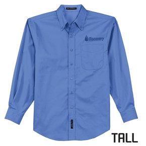 Port Authority TALL Long Sleeve Easy Care Shirt (Ultramarine Blue)