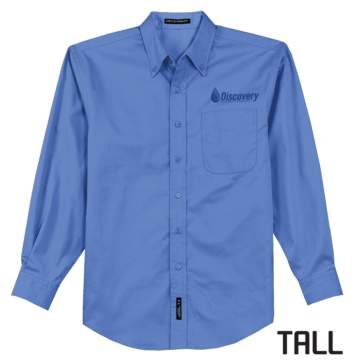 Port Authority Port Authority TALL Long Sleeve Easy Care Shirt (Ultramarine Blue)