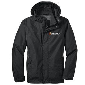 Eddie Bauer Rain Jacket (Black/Steel Grey)