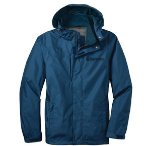 Eddie Bauer Eddie Bauer Rain Jacket (Deep Sea Blue/ Dark Adriatic)