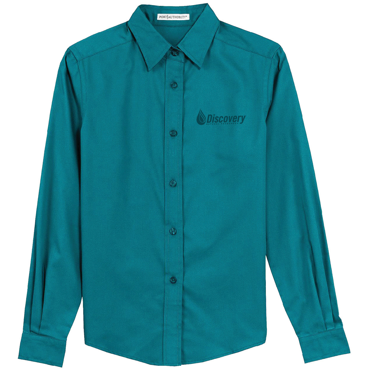Port Authority Port Authority Ladies Long Sleeve Easy Care Shirt (Teal Green)