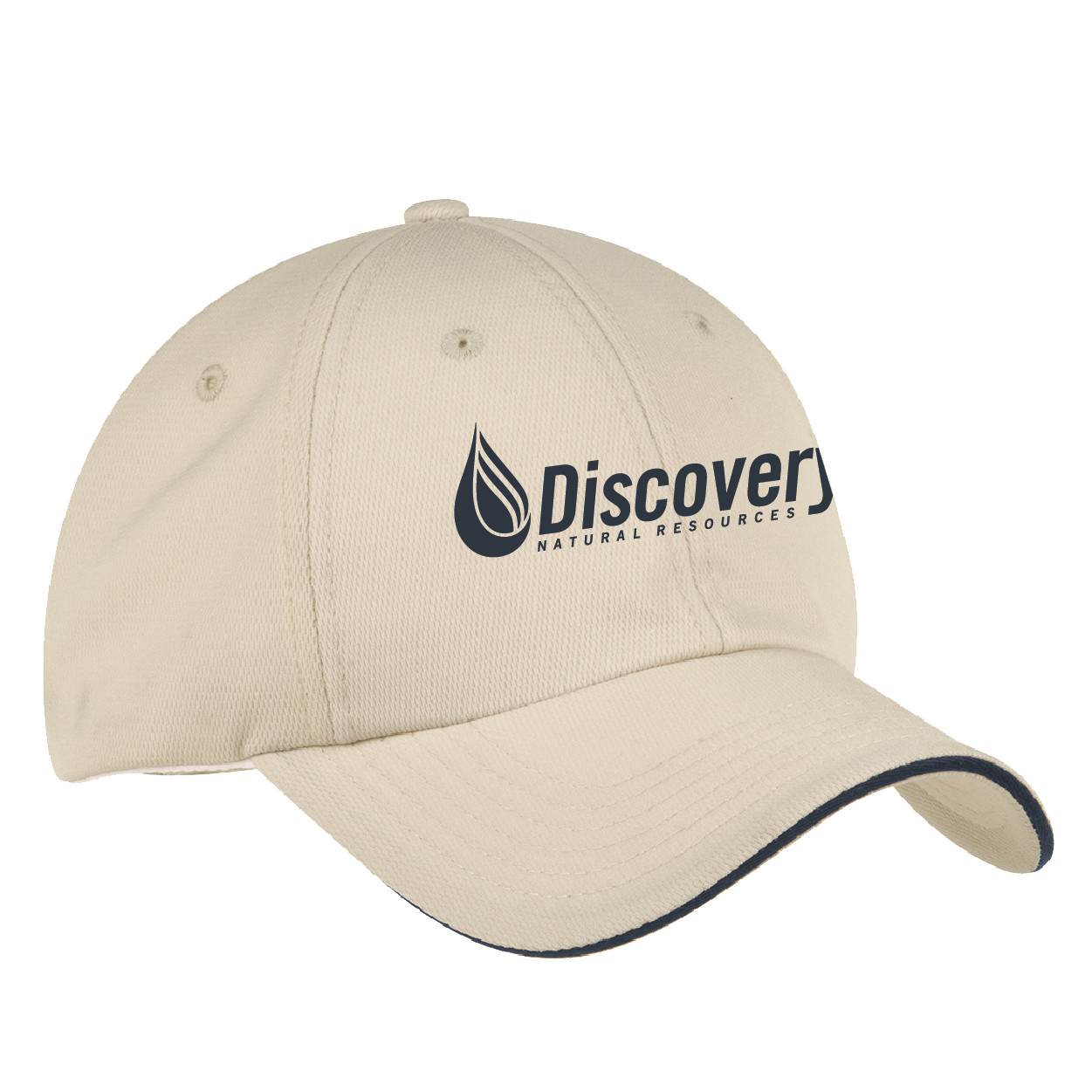 Port Authority Port Authority Dry Zone Cap (Stone/Classic Navy)