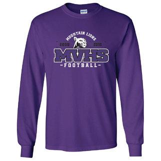 Gildan Gildan Ultra Cotton Long Sleeve T-Shirt (Purple)