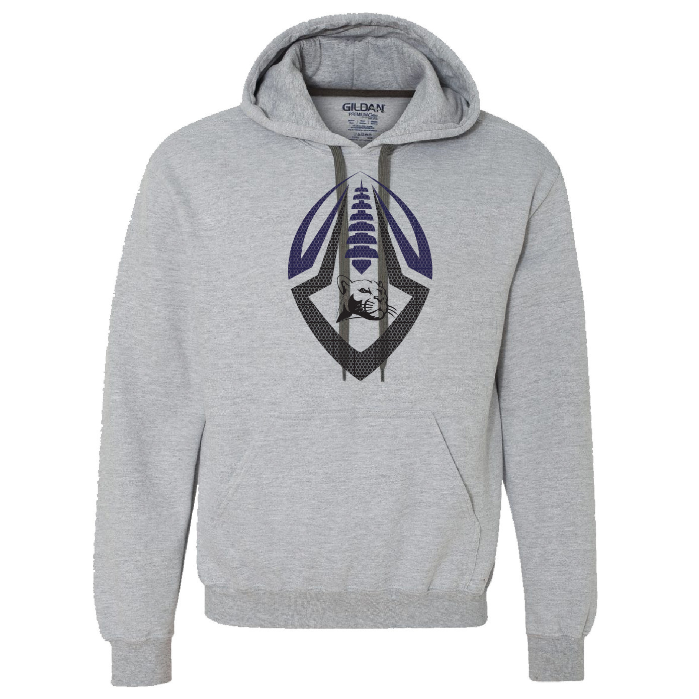 Gildan Gildan Premium Cotton Adult Hooded Sweatshirt (Sport Grey)