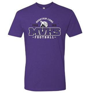 Next Level Cotton Crew T-Shirt (Purple)