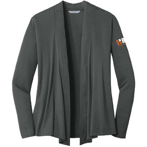 Port Authority Port Authority Ladies Concept Open Cardigan (Grey Smoke)