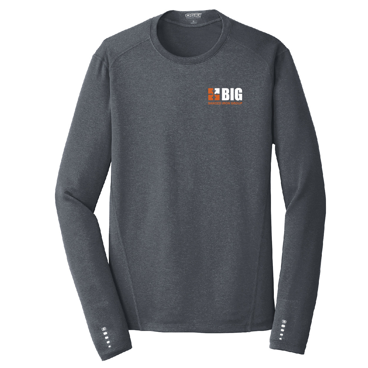 Ogio Ogio Endurance Long Sleeve Pulse Crew (Gear Grey)