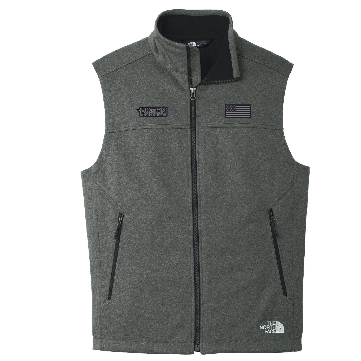 The North Face The North Face Ridgeline Soft Shell Vest (Dark Grey Heather)