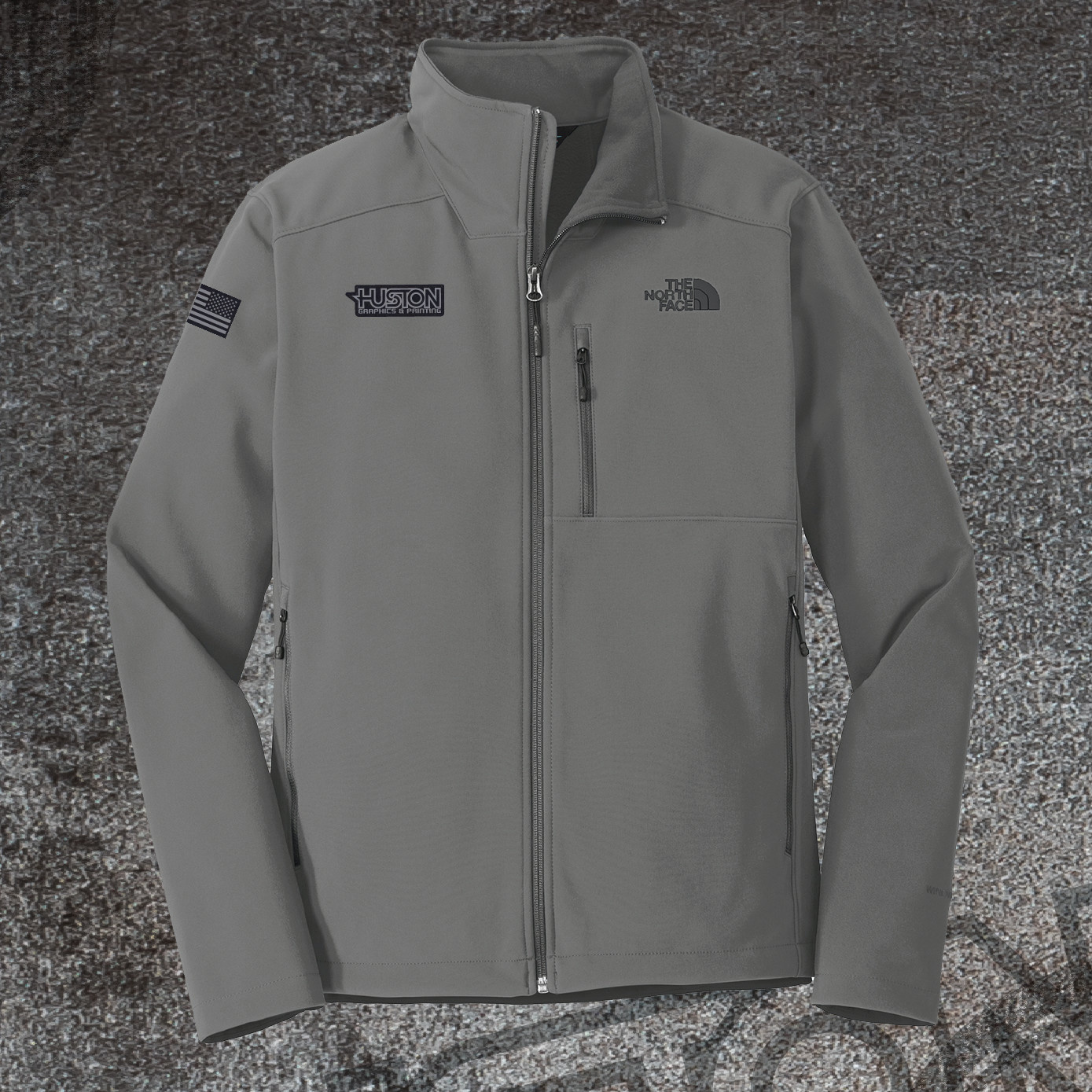 The North Face The North Face Apex Barrier Soft Shell Jacket (Asphalt Grey)