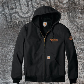 Carhartt Carhartt Tall Thermal Lined Duck Active Jac (Black)