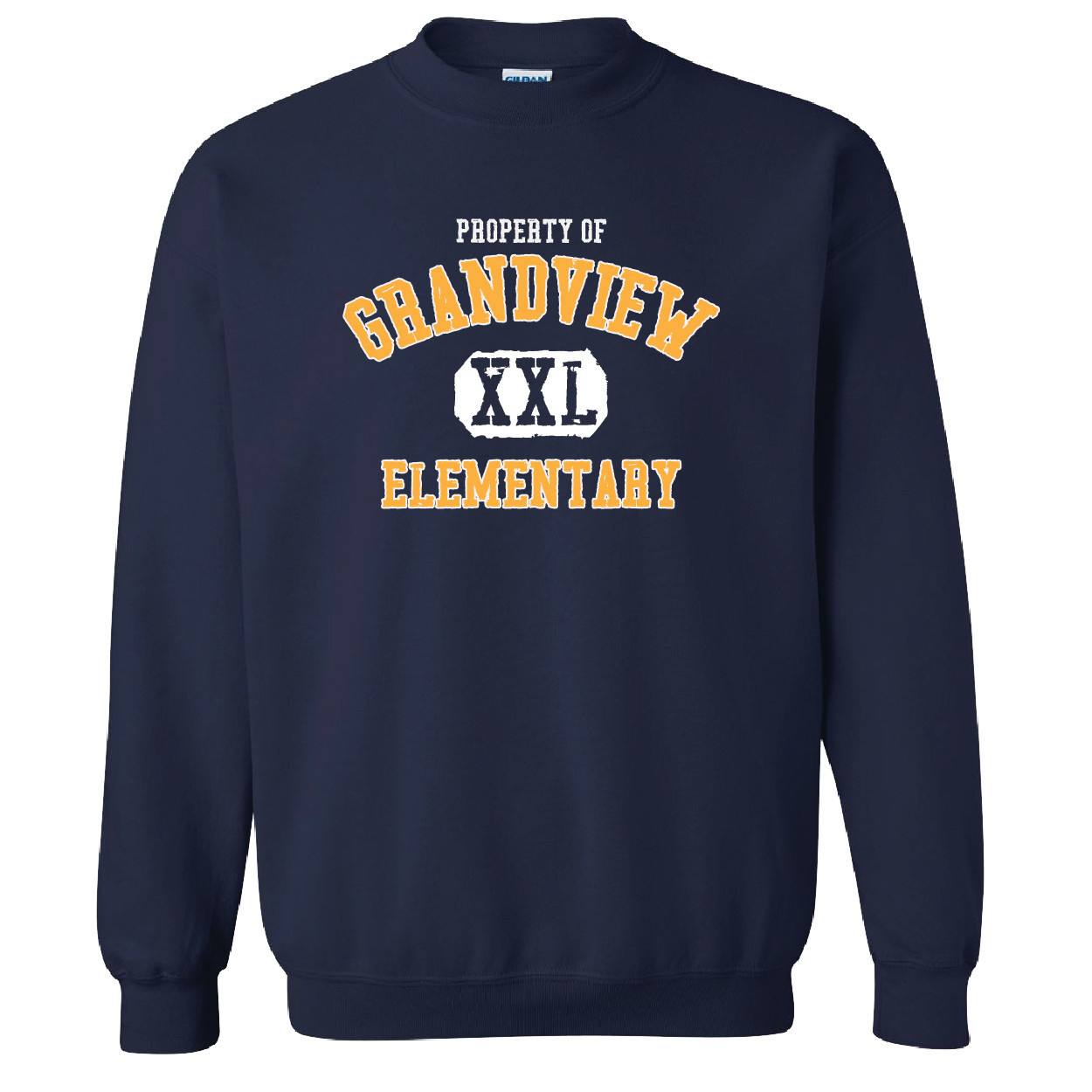 Gildan Gildan Heavy Blend Fleece Crew (Navy)