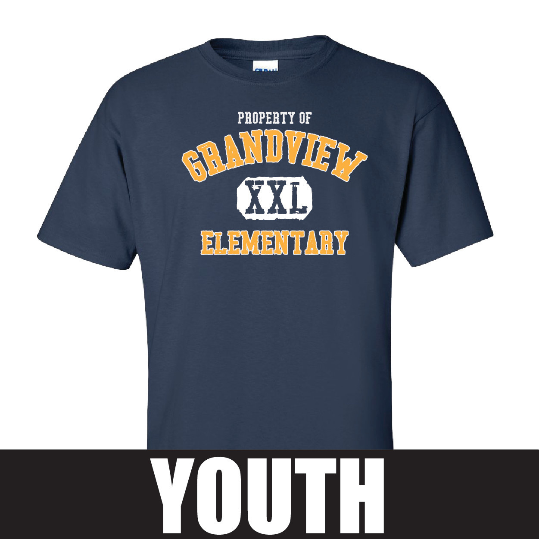 Gildan Gildan Ultra Cotton Youth T-Shirt (Navy)