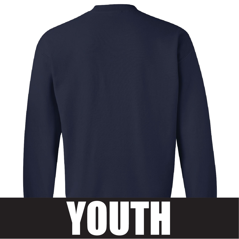 Gildan Gildan Heavy Blend Youth Fleece Crew (Navy)
