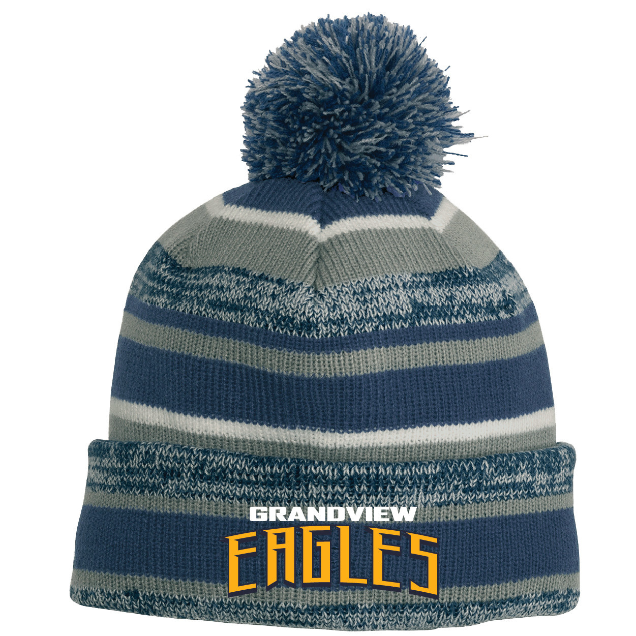 New Era Sideline Beanie (Royal/Grey)