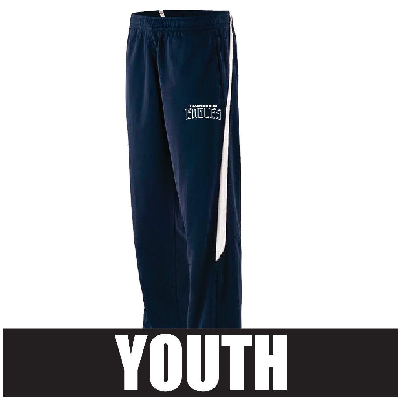 Augusta Youth Retro Grade Pant (Navy/White)