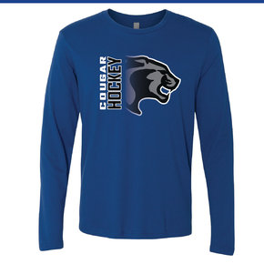 Next Level Next Level Cotton Long Sleeve Crew (Royal)