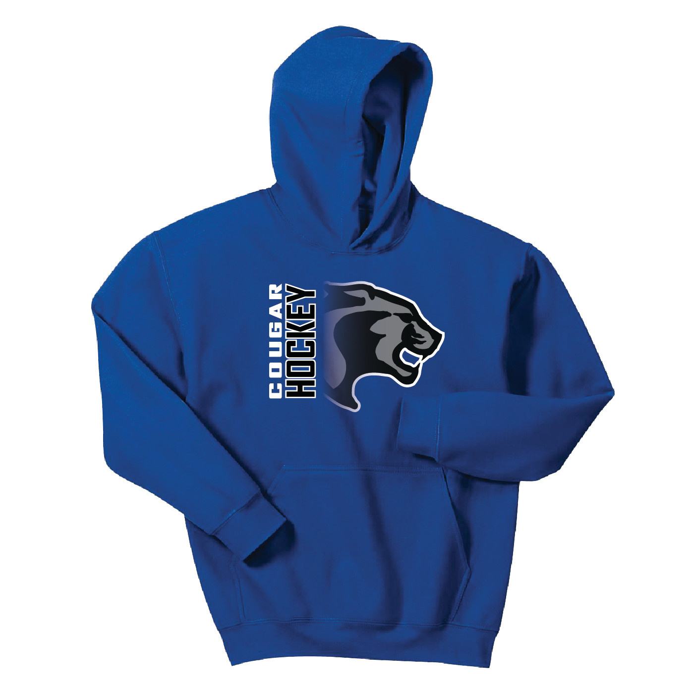 Gildan Gildan Youth Heavy Blend Hooded Sweatshirt (Royal)