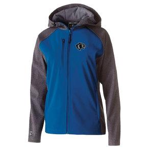 Augusta Ladies Raider Softshell Jacket (Royal/Charcoal)