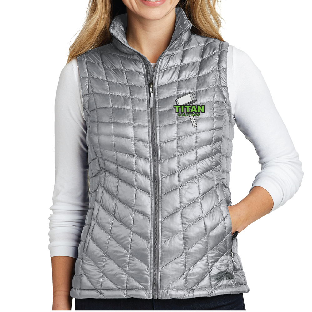 The North Face The North Face Ladies ThermoBall Trekker Vest (Mid Grey)