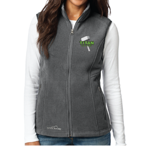 Eddie Bauer Eddie Bauer Ladies Fleece Vest (Grey Steel)