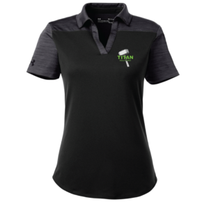 Under Armour Under Armour Ladies Corporate Colorblock Polo (Black)