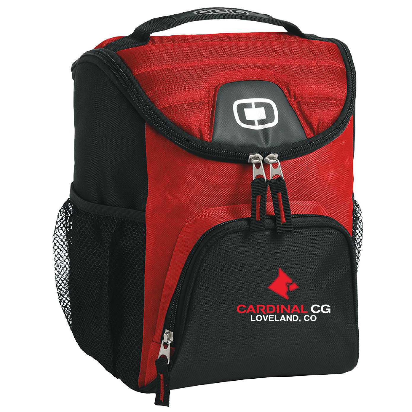 Ogio OGIO® - Chill 6-12 Can Cooler (Red)