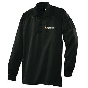 CornerStone Select Long Sleeve Snag-Proof Tactical Polo (Black)