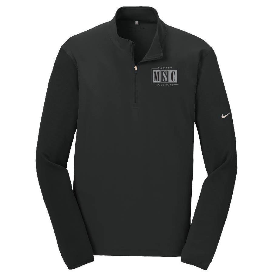 Nike Nike Golf Dri-FIT 1/2-Zip Cover-Up (Black)